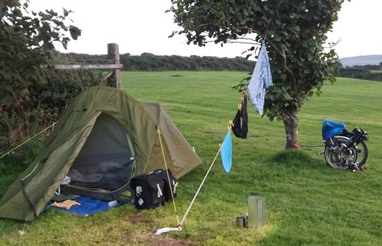 Camping near St Ives