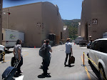 Show day...packing in our nice clothes as we wander around the WB lot.  Eddie is filling in for Alex on this one.