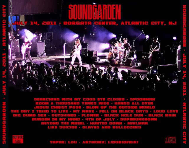 Soundgarden Hunted DownNothing To Say