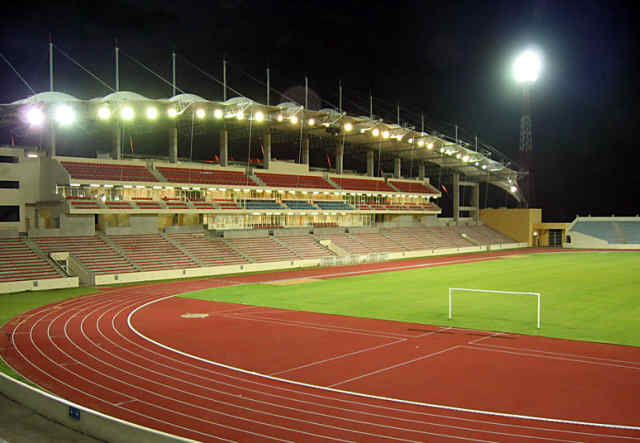 Nuevo Estadio de Malabo Guinea Ecuatorial Africa