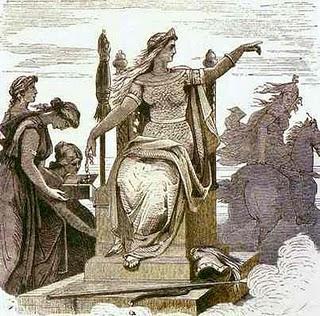 Goddess Frigga Image