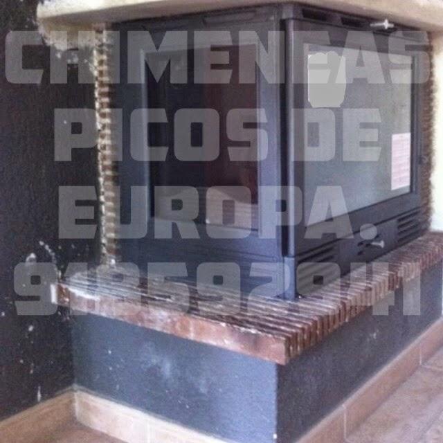 Chimeneas picos de europa instalaci n aparato de le a - Cual es la mejor lena para chimenea ...