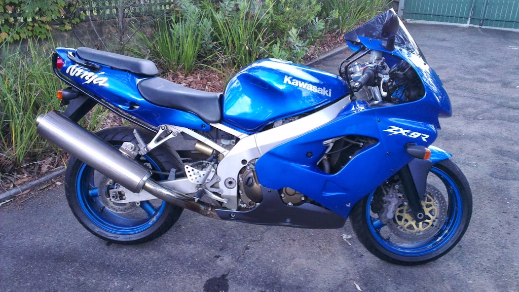 zx9r kawasaki ninja 1998 sports road bike for sale