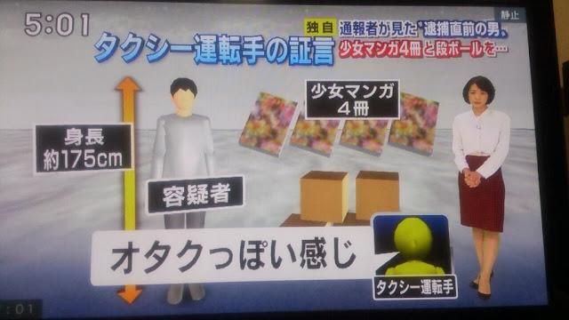 【札幌女児監禁】女児無事保護の当日、マスコミ各社「少女漫画を持った不審な男」断片的な目撃情報を報じる