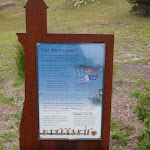Information sign near the signalling flags (107560)