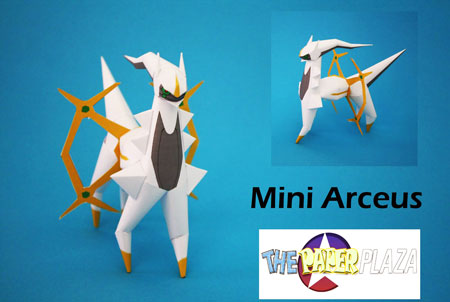 Mini Arceus Papercraft