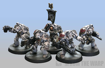 40k Dark Angles Deathwing Terminator Squad