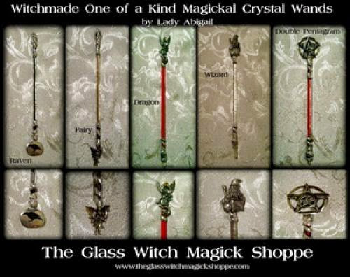 Witchmade One Of A Kind Magickal Crystal Wands - 65 00
