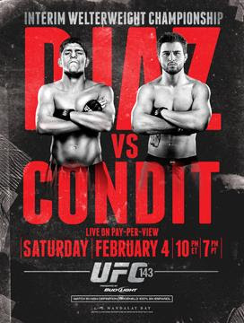 UFC 143: Diaz Vs. Condit   HDTV