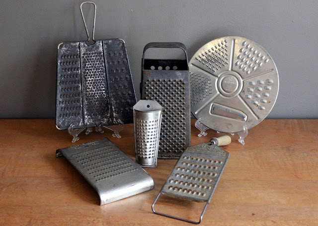 Assorted cheese graters available for rent from www.momentarilyyours.com, $1.50 each.