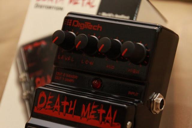 digitech death metal distortion pedal. Black Bedroom Furniture Sets. Home Design Ideas