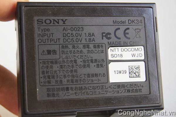 Dock sạc DK34 Sony Xperia Z1 (SO-01F) chính hãng Sony Nhật