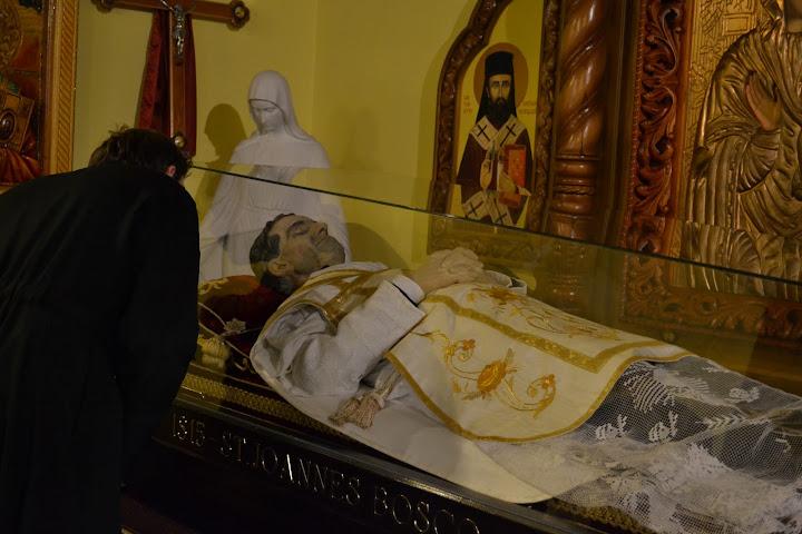 Святой Иоанн встретил смерть с улыбкой...