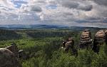 Pohled od Velk� Kupy na Slavn�.