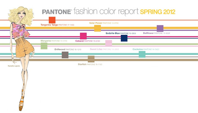 Pantone Spring 2012 Colors for Womean