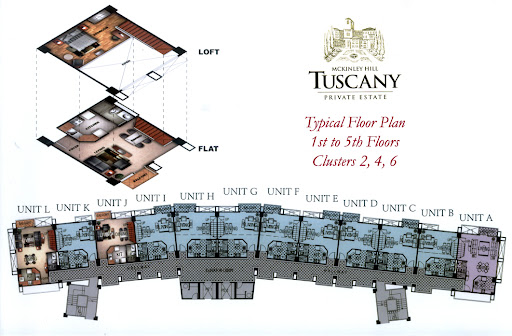 Tuscany Bianca - Fiorenze - Typical Floor Plan