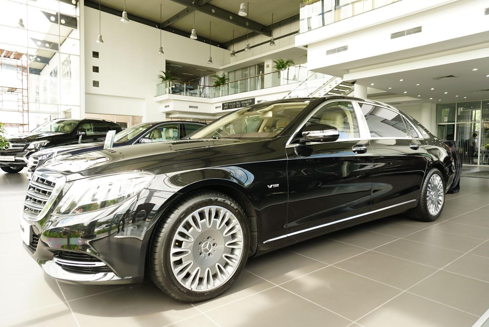 Mercedes-Maybach S600 là sự kết hợp hoàn hảo của Mercedes và Maybach