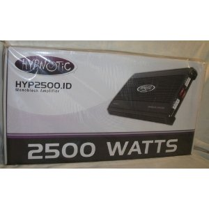 Discount Hypnotic HYP-2500 1, 2500 watt, MonoBlock Amplifier