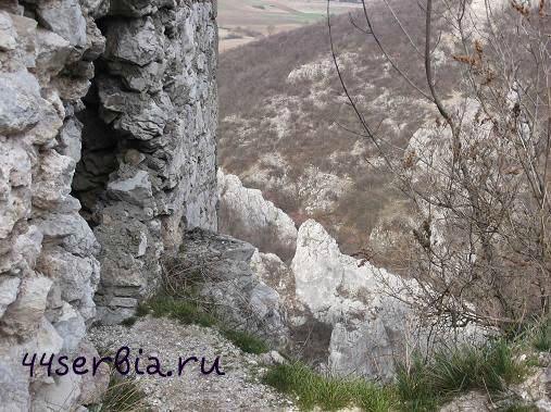 Сокоград, вид сверху