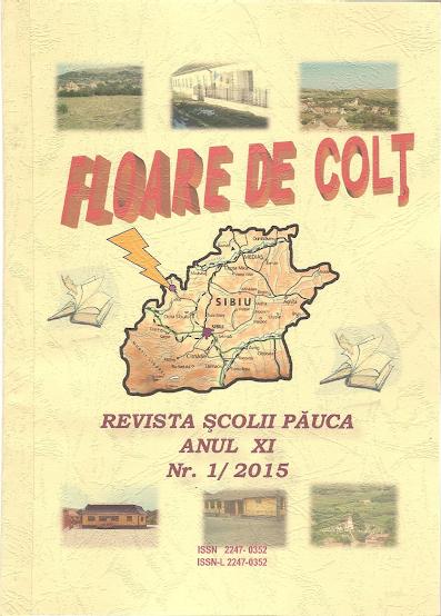 ed5 (ELECTRONIC - revistă scolara) floare de colț_ȘCOALA GIMNAZIALĂ_Pauca_PĂUCA_SIBIU