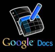 google documents logo with inverted colors