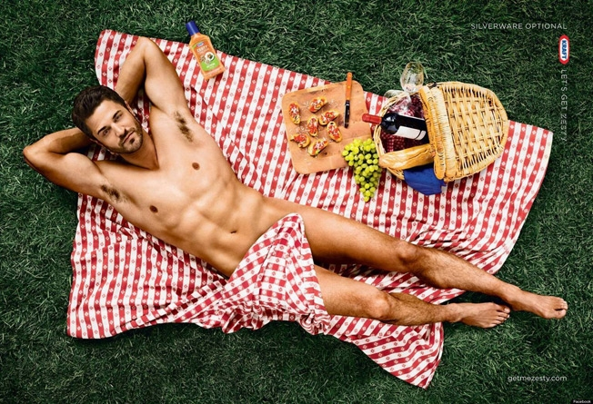 Kraft Zesty Italian — Sexy Picnic & Silverware Optional