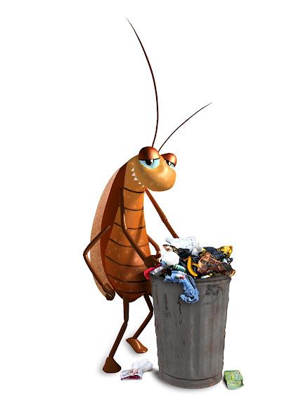 Илюстрация на хлебарка за уеб сайта Dorkies.