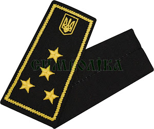 Погони / митна служба/  інспектор 1 рангу / чорні