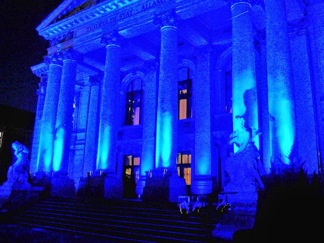 Programul Teatrului de stat regina Maria, octombrie 2014 #1