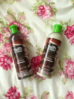 Faith in Nature shampoo and conditioner