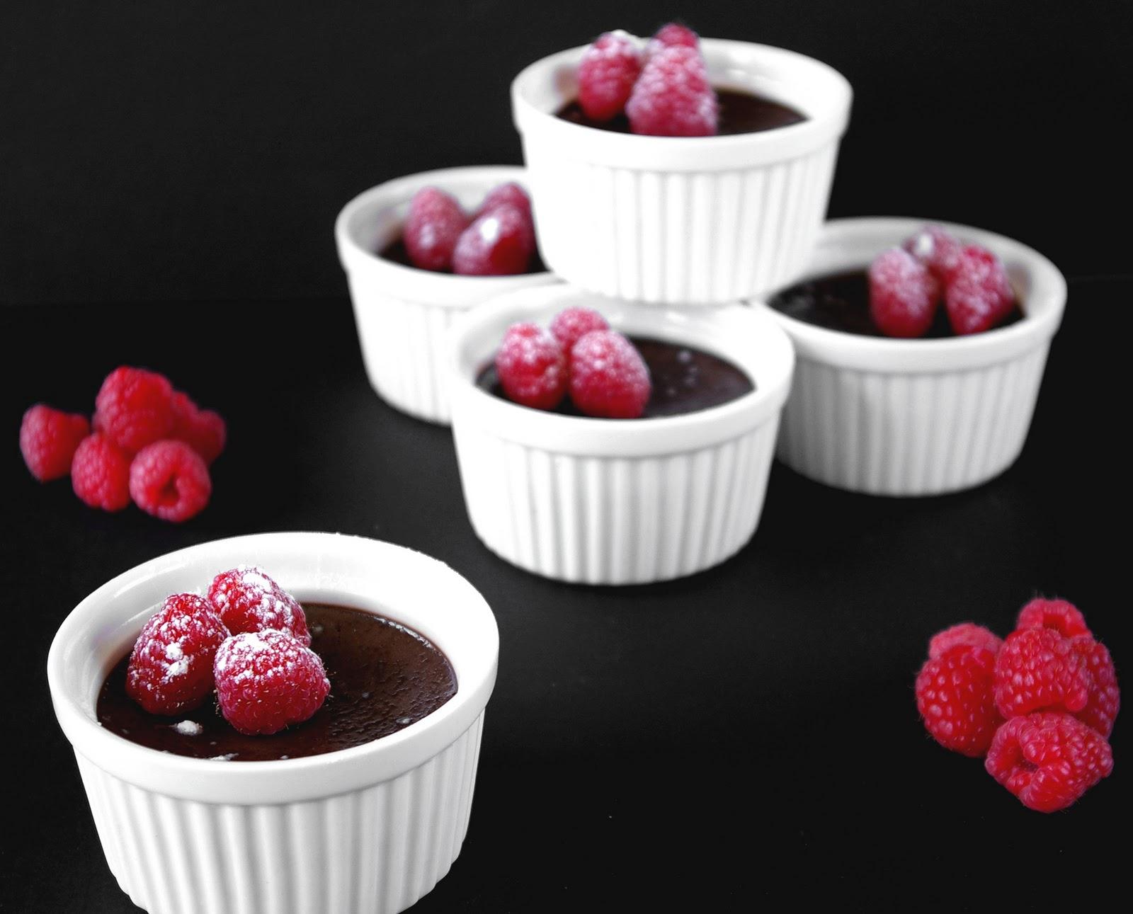 ... kokos creme chocolate hazelnut pots de creme with praline tastefood
