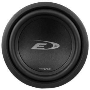inch Alpine Type E s Subwoofers -