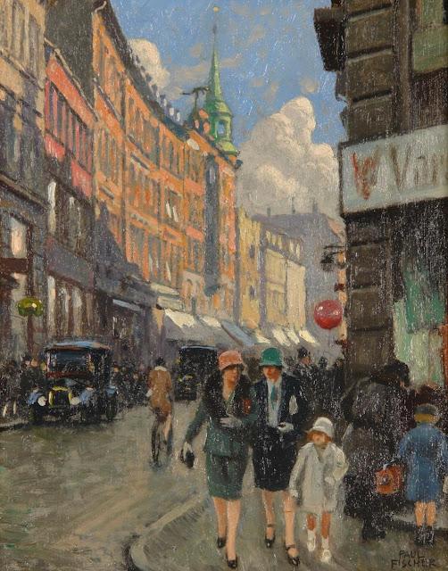 Paul Gustave Fischer - Skindergade