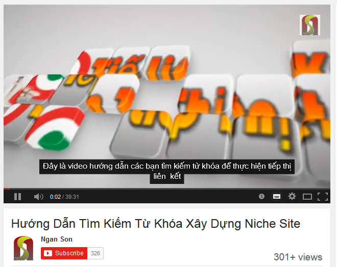tu khoa transcription seo youtube