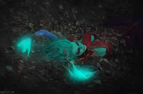 Milligan  Vick siêu quyến rũ với cosplay Death Prophet - Ảnh 5