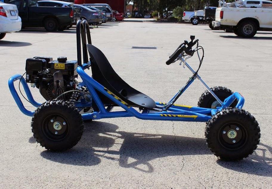 6.5Hp 4 stroke Kids Mini GoCart Buggy Blue