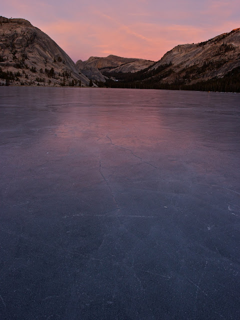 Frozen Tioga Lake