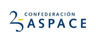 Logo de ASPACE (Confederación Española de Federaciones y Asociaciones de Atención a las Personas con Parálisis Cerebral y Afines)