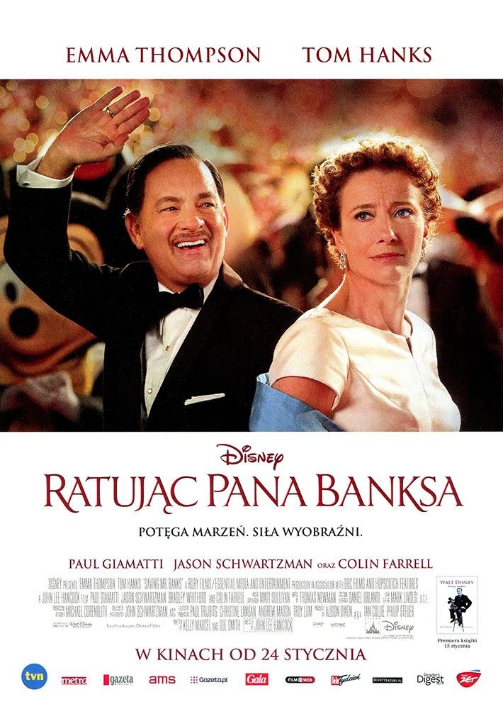 Ulotka filmu 'Ratując Pana Banksa (przód)'