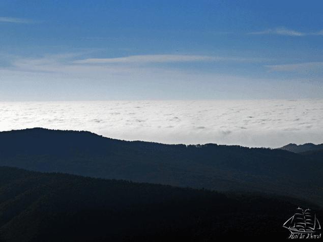 mare de nori bucegi
