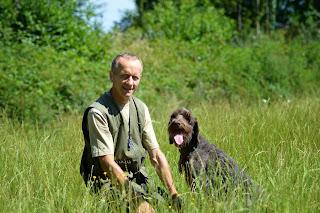 Didier Desjardins, dresseur-éleveur de chiens de chasse