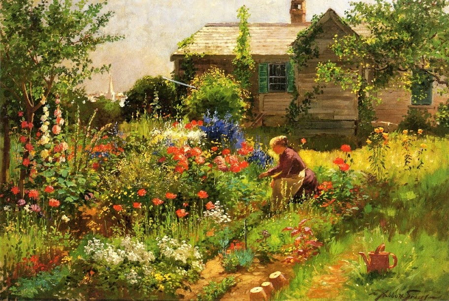 Abbott Fuller Graves - Near Kennebunkport