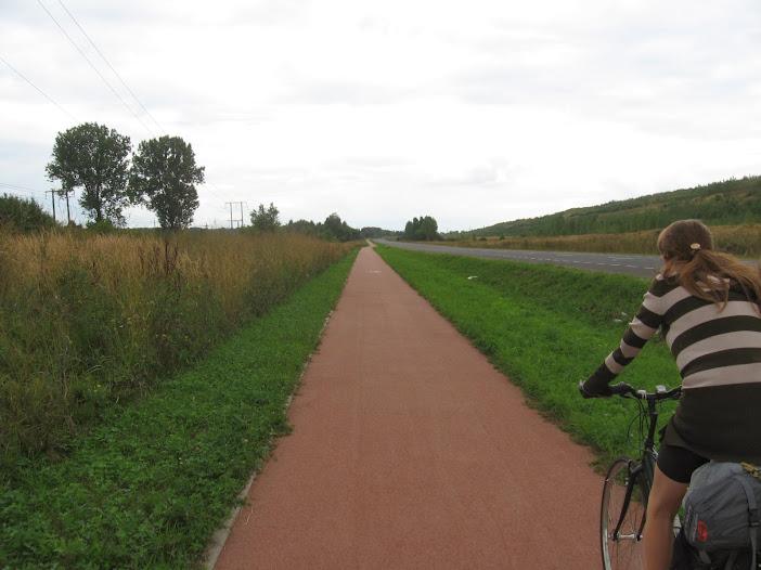 Kleszczów, ścieżka rowerowa