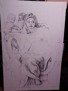 Work in progress at sketch stage. Showing full canvas.