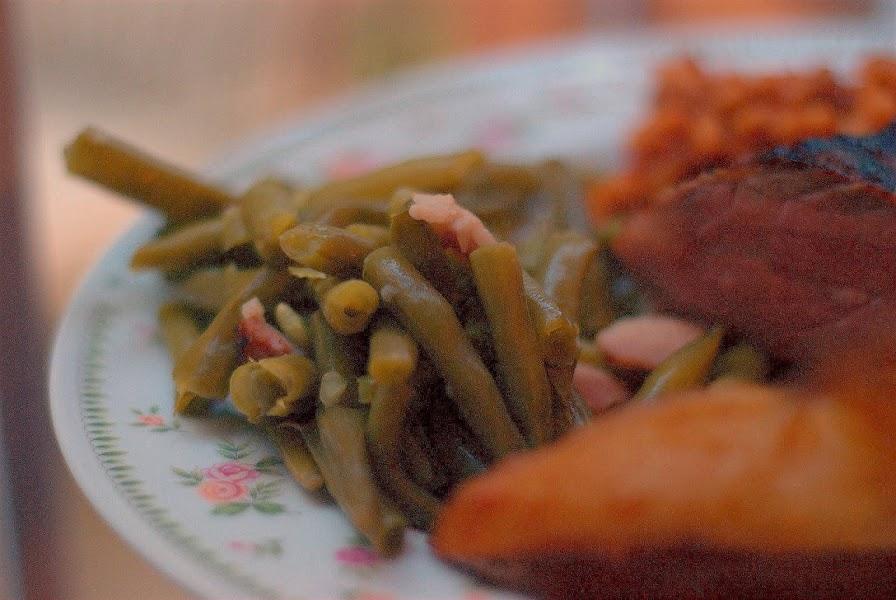 Pressure Cooker Green Beans