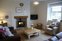 Curlew Cottage Dunstan near craster, Stylish Lounge