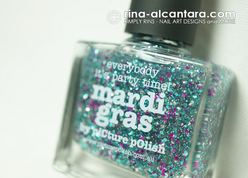 Picture Polish Mardi Gras - Everybody It's Party Time