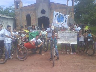 """JM promove """"Pedalada da Evangelização"""" no Pará"""