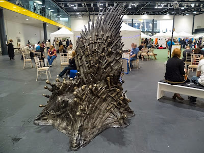 Iron Throne at LonCon fan village