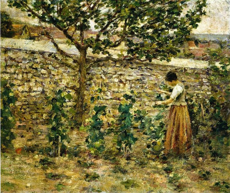 Theodore Robinson - In the Garden